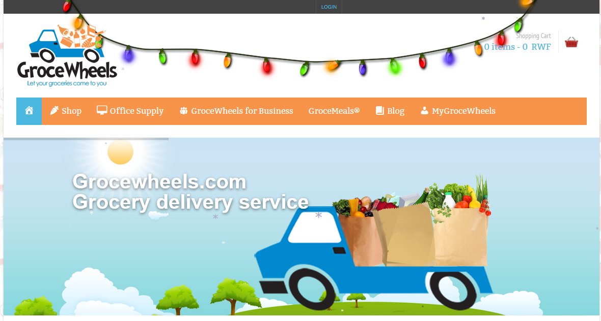 Food Delivery Shop